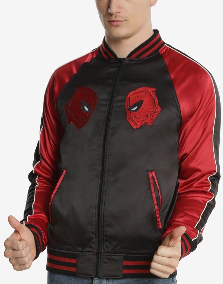 souvenir deadpool jacket