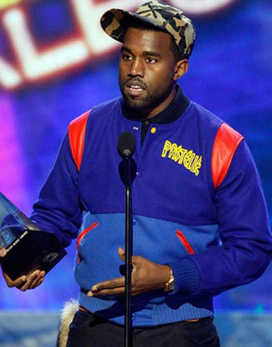 kanye west varsity jacket