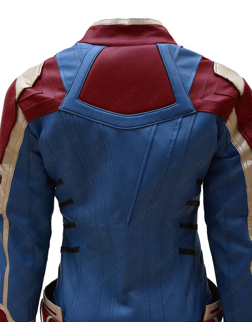 Captain Marvel Carol Danvers Brie Larsons Jacket Ujackets Related:captain marvel jacket her universe captain america jacket captain marvel costume. captain marvel carol danvers brie larsons jacket ujackets