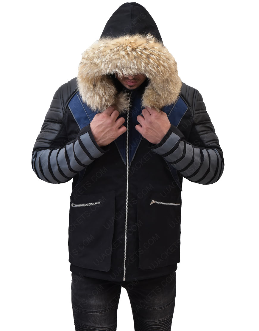 Crisis On Earth X Citizen Cold Parka Jacket