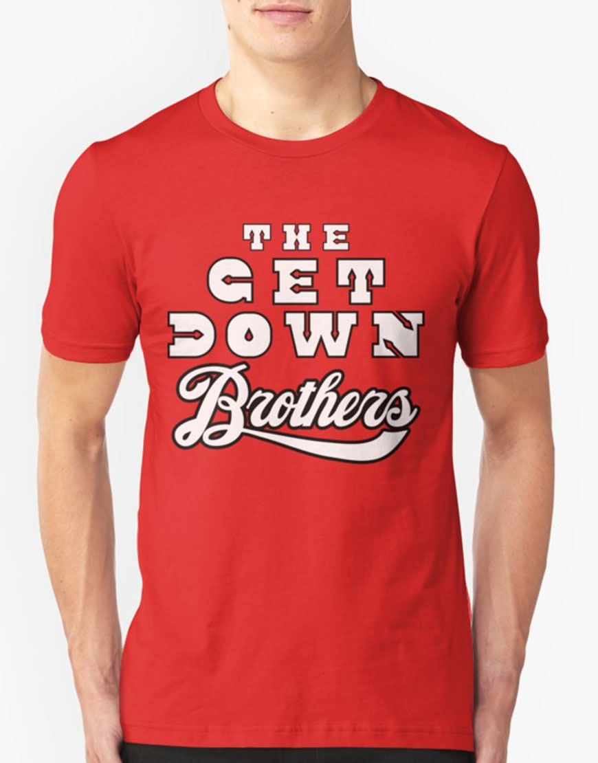 get down brothers t-shirt