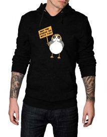 may the porg be with you hoodie