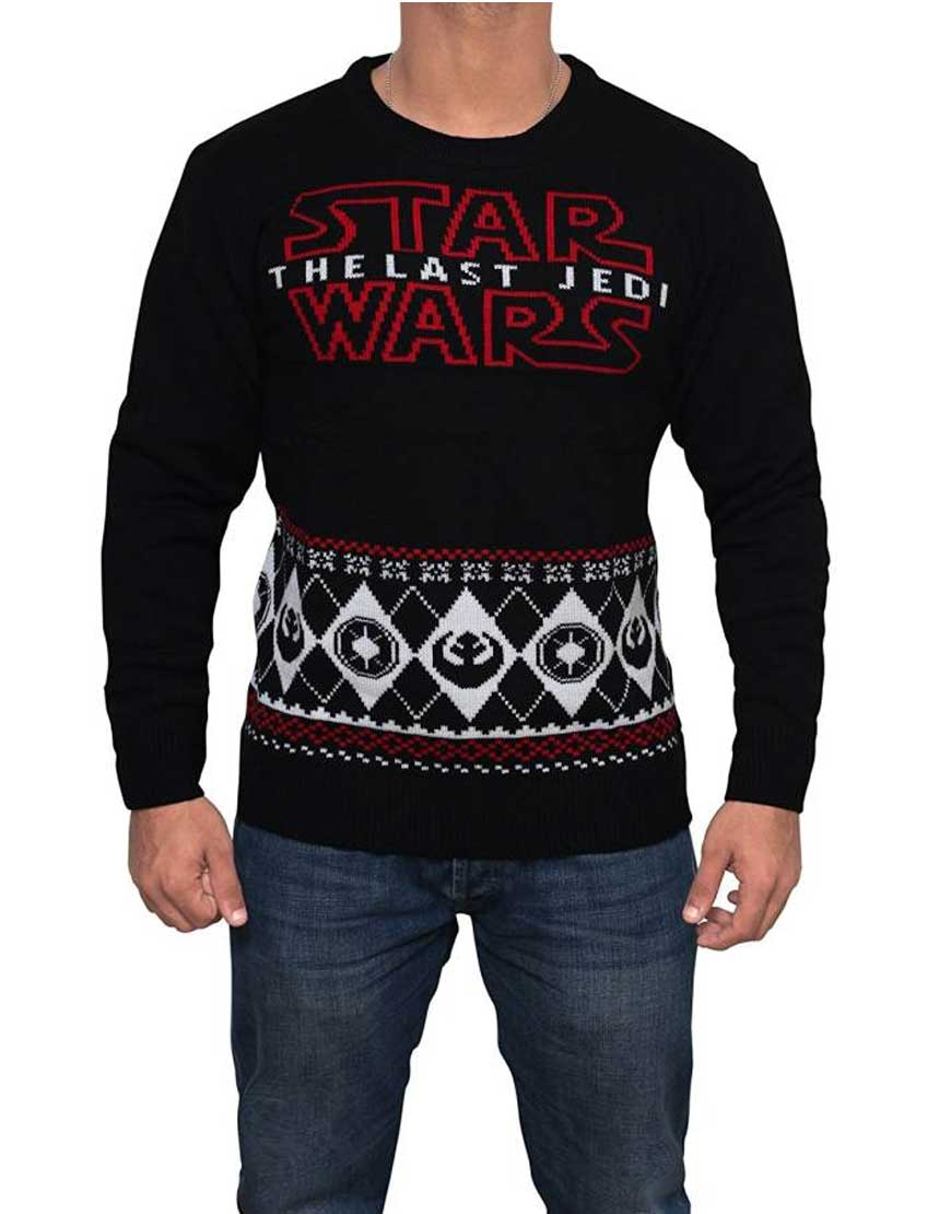 the last jedi sweater