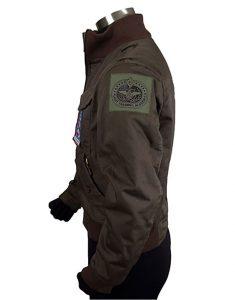 lee adama bomber jacket