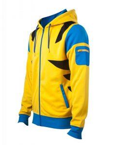 x-men wolverine costume styled hoodie