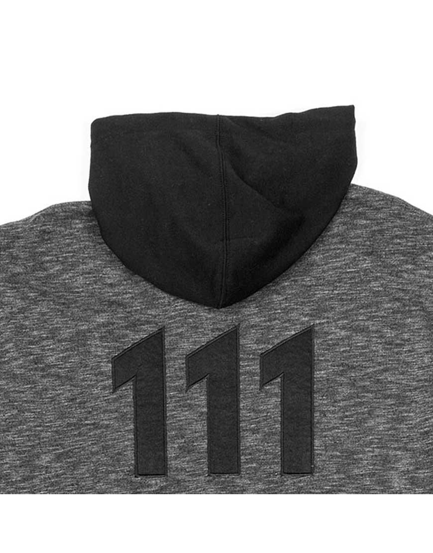 Fallout Vault 111 Black Contrast Sleeves Hoodie