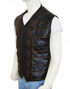 dark matter leather vest