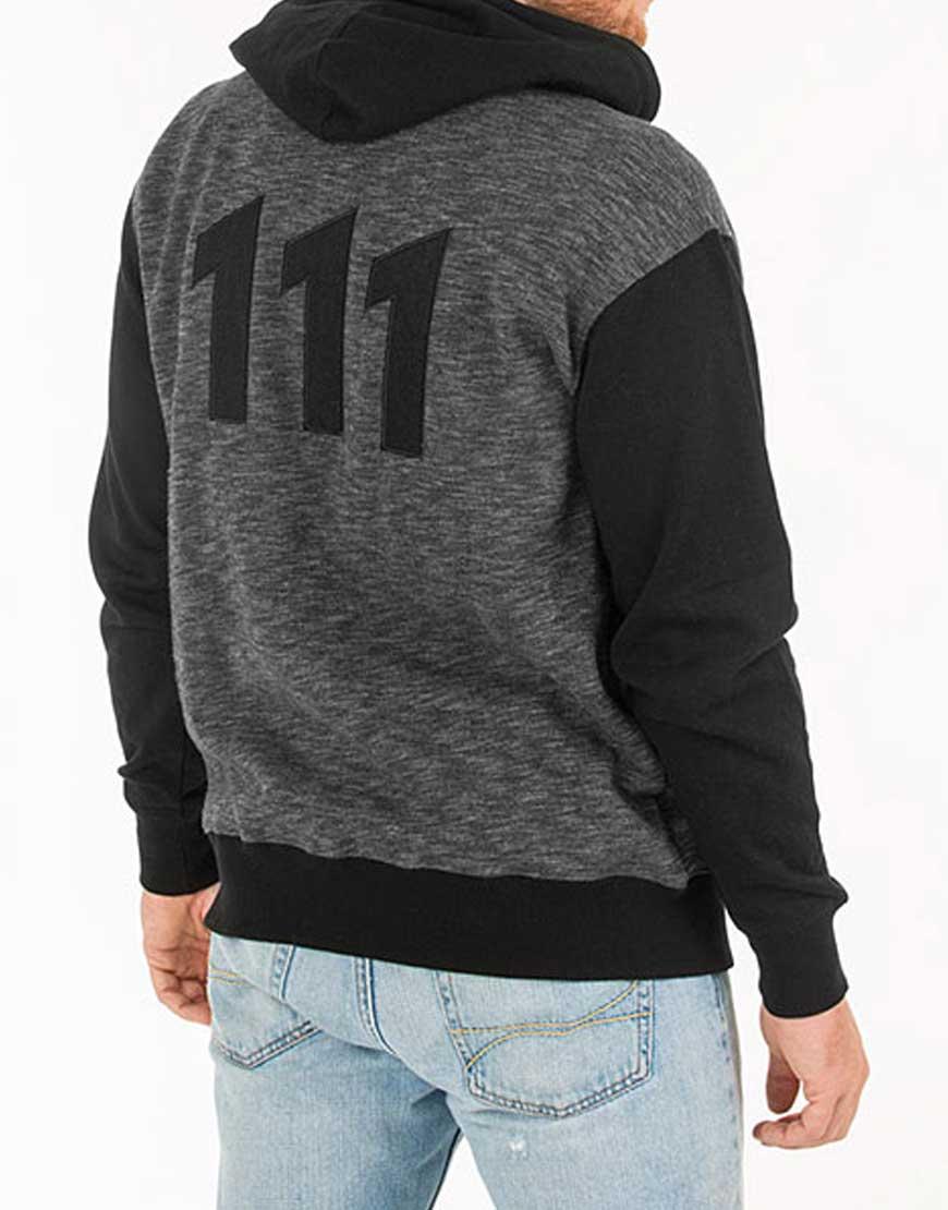 fallout vault 111 zip-up hoodie