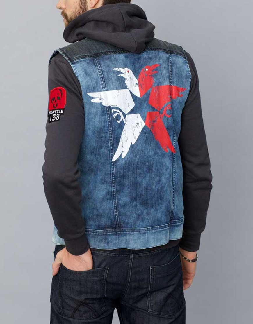 Delsin Rowe Denim Vest