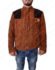 Solo: A Star Wars Story Distressed Brown Leather Jacket
