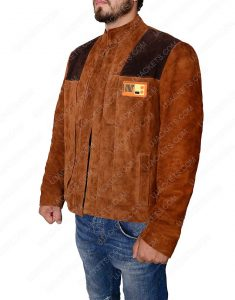solo a star wars story distressed leather jacket