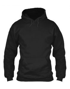 altered carbon black hoodie