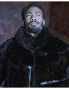 donald glover fur coat