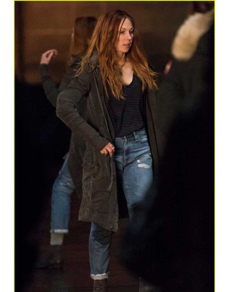 elizabeth olsen coat