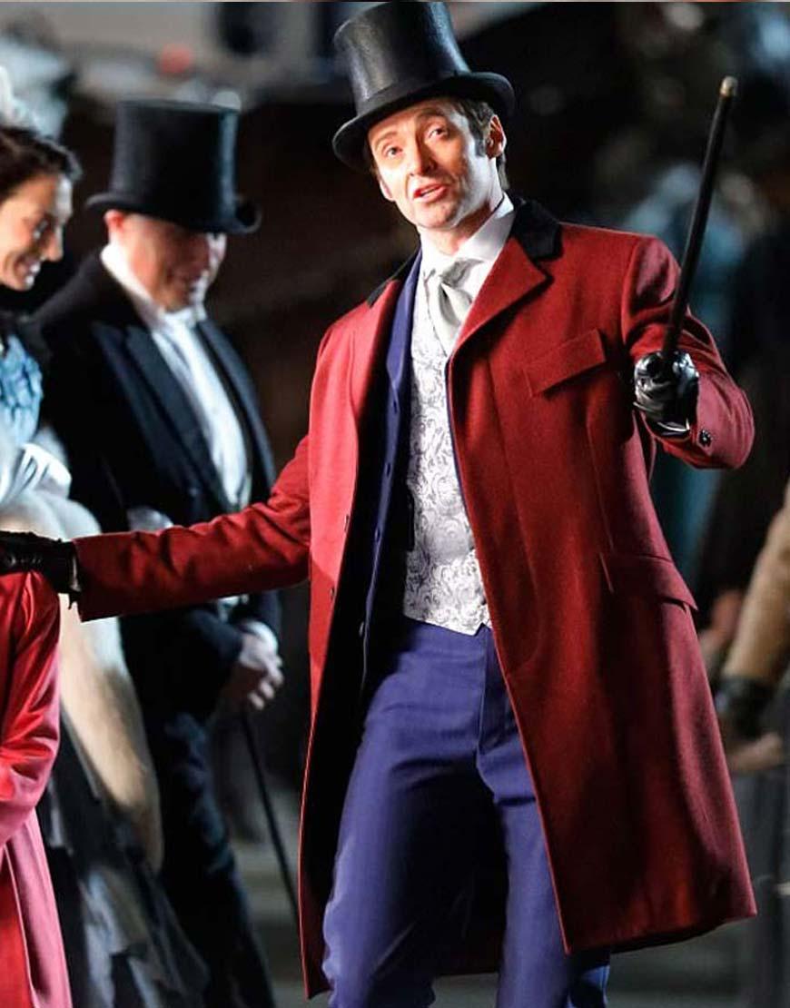 showman red coat
