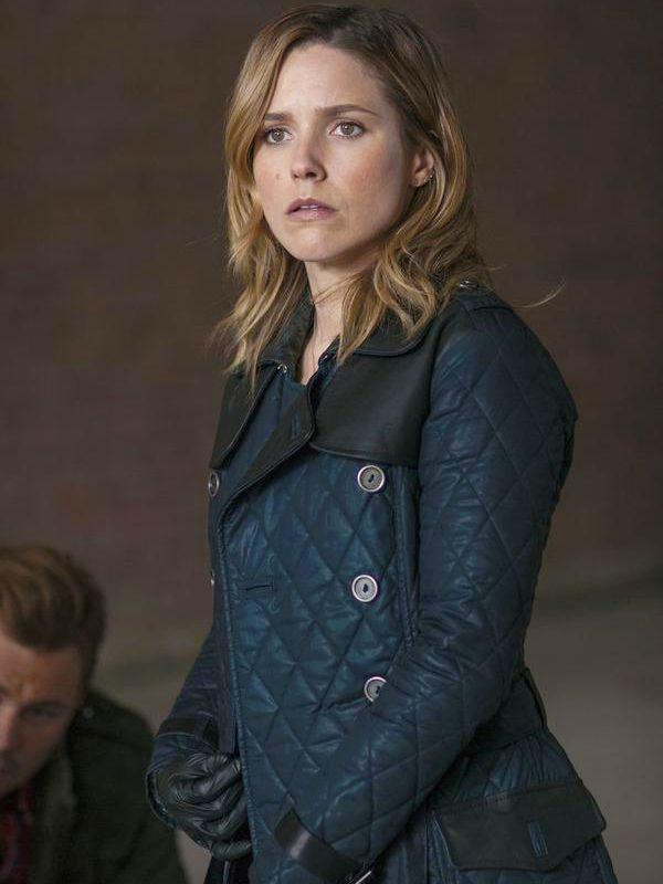 Chicago P.d Sophia Bush Blue Jacket