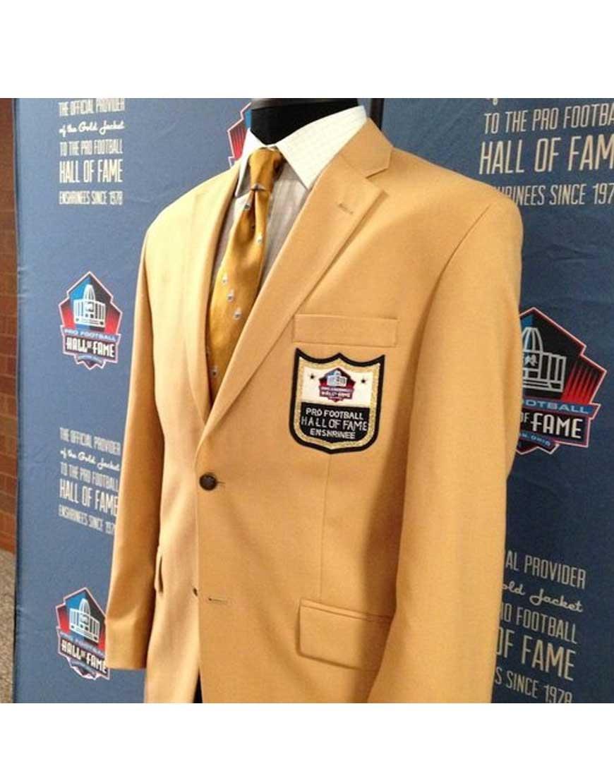 hall of fame gold jacket