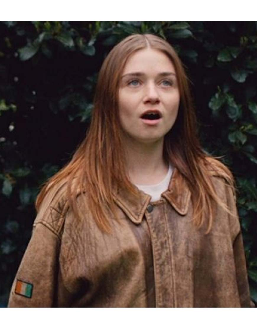 jessica barden the end of the f***ing world jacket