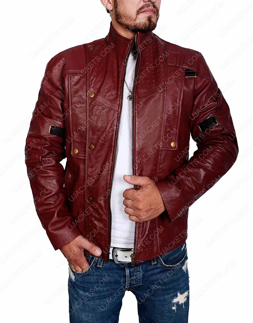 star lord brown jacket