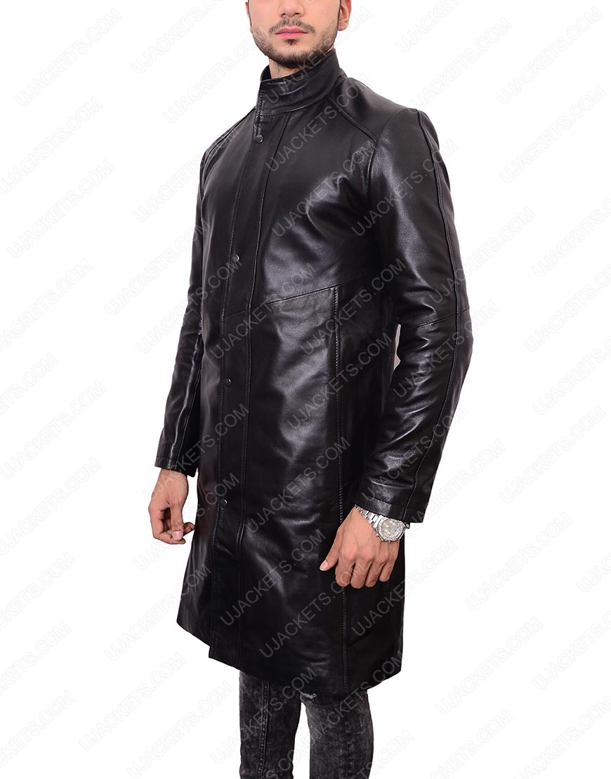 Gabriel Lorca Leather Coat