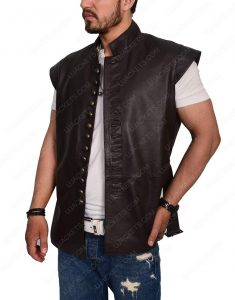 Galavant leather vest