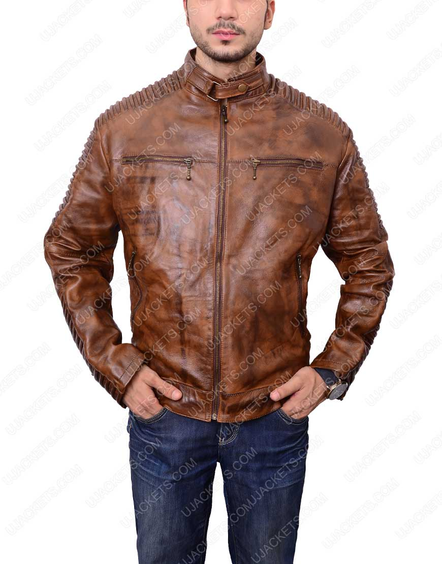 mens-distressed-brown-bikers-cafe-racer-jacket