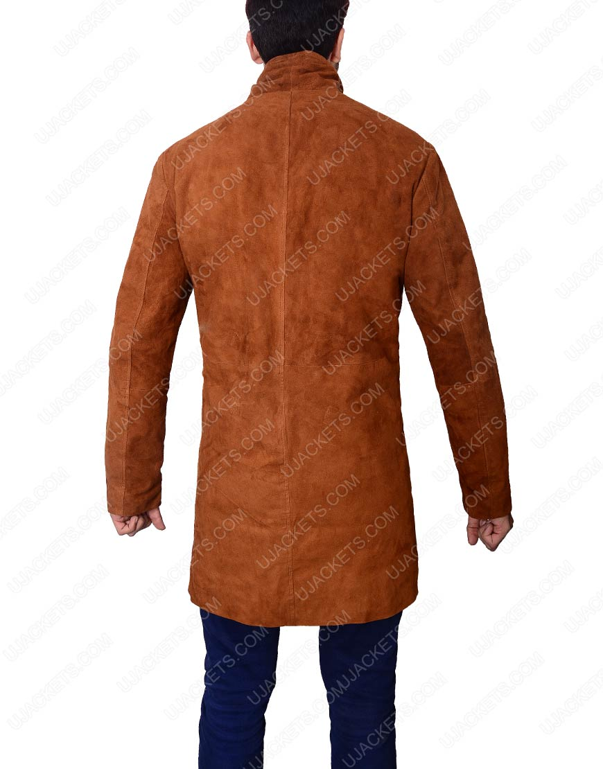 Robert Shariff Leather Coat