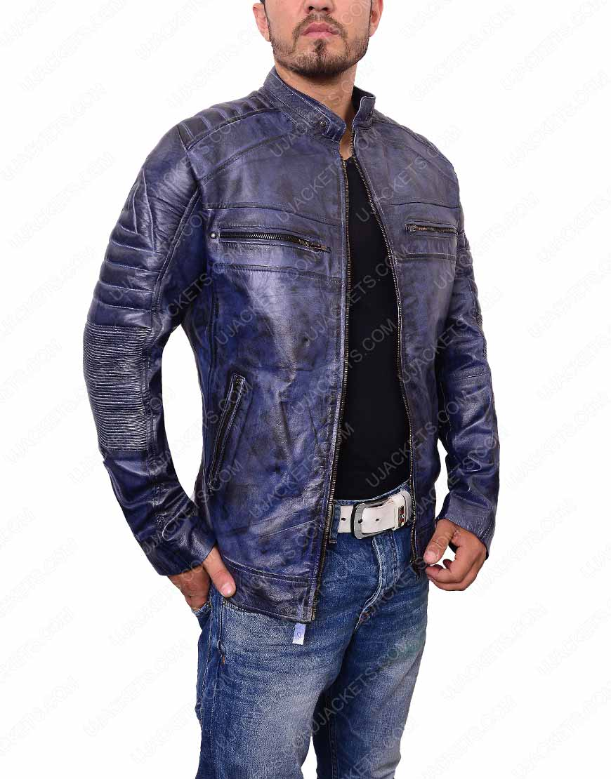 cafe-racer-blue-waxed-jacket