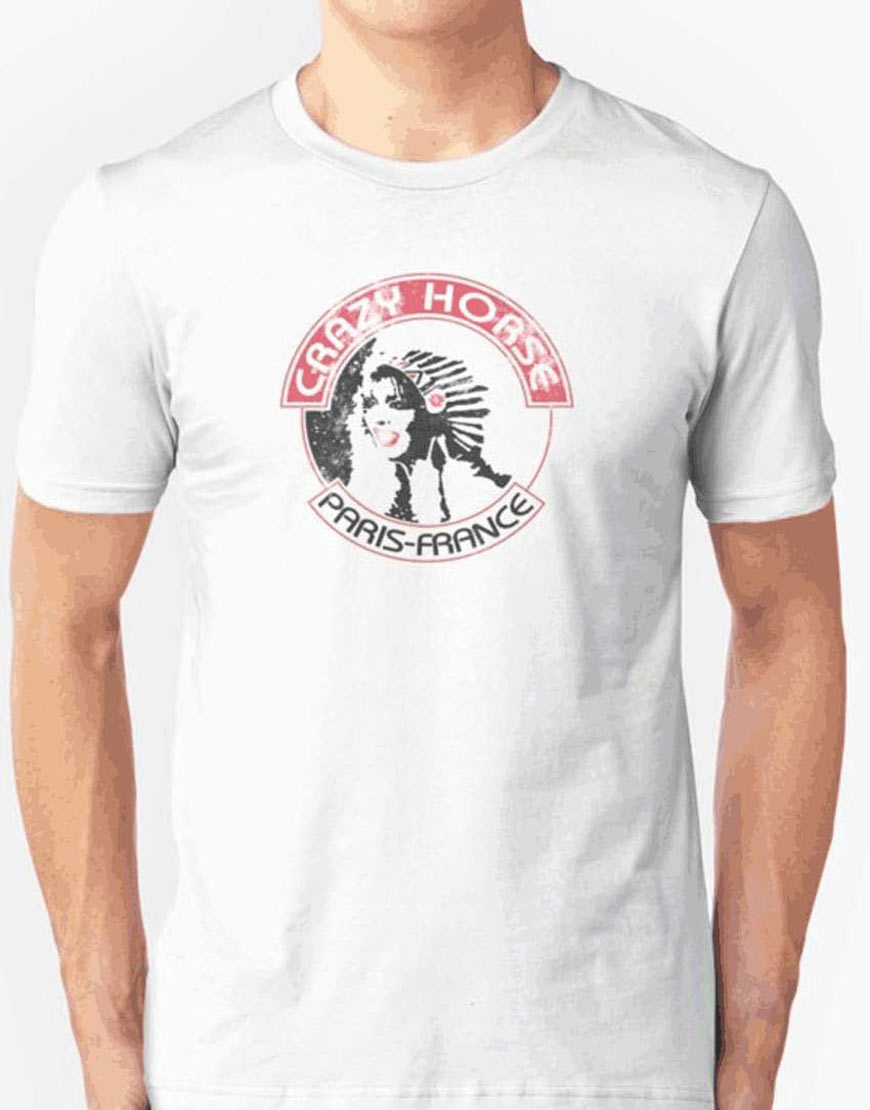 deadpool 2 crazy horse paris france white t shirt