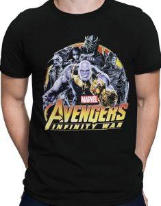 Avenger Infinity War Thanos Shirt