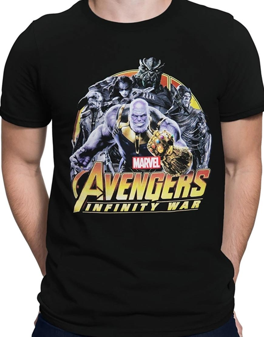Avenger Infinity War Thanos Shirt
