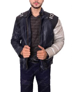 bucky barnes infinity war leather jacket