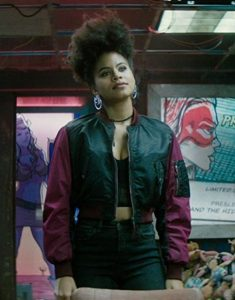 deadpool 2. domino jacket