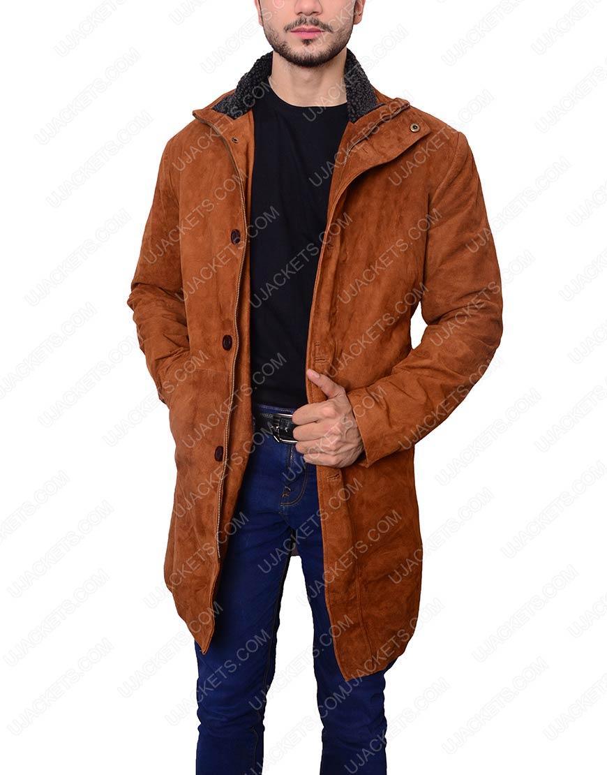 sheriff walt longmire leather coat
