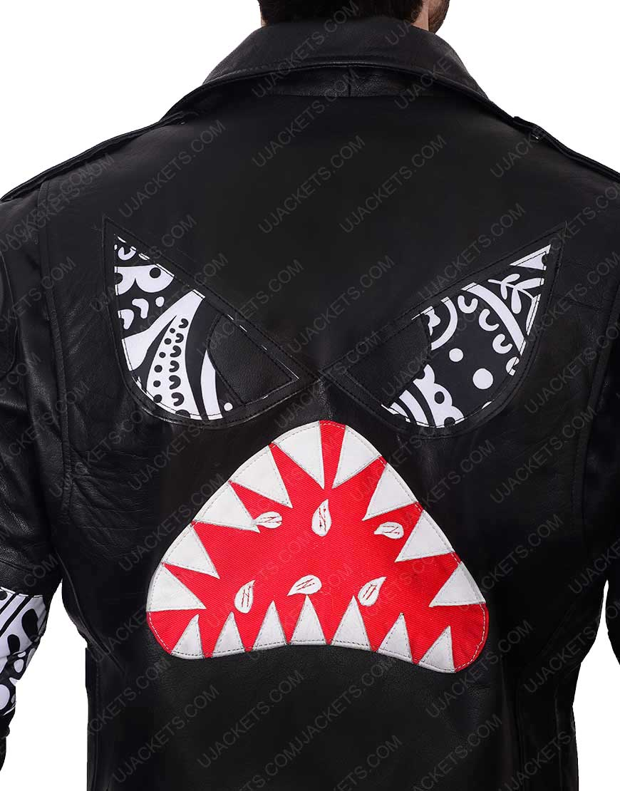 Daft Punk shark Julian Casablancas Leather jacket