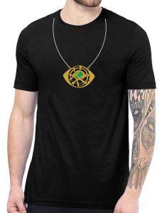 Doctor Strange Eye Of Agamotto Necklace T Shirt