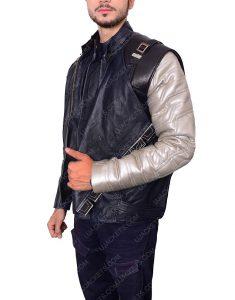 avengers infinity war silver armor jacket
