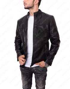 Zayn Malik Slim Fit leather Jacket
