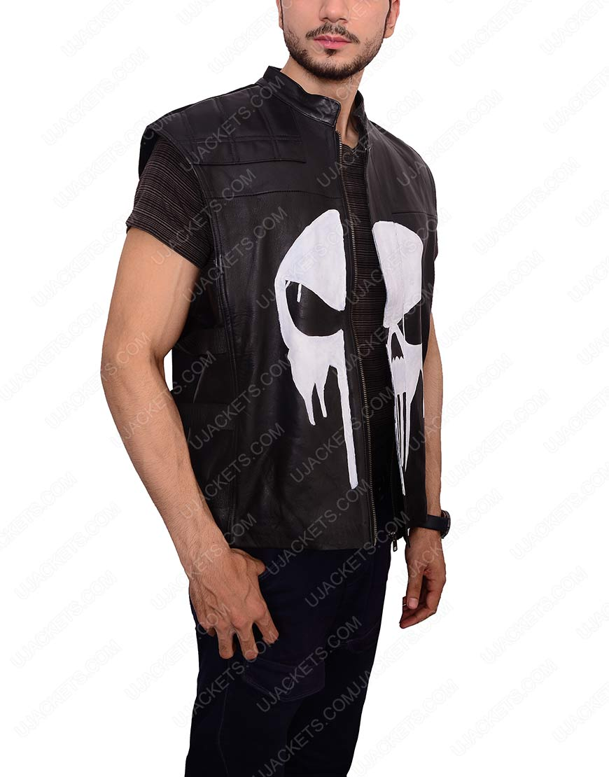 jon bernthal punisher vest