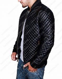 slim fit black jacket
