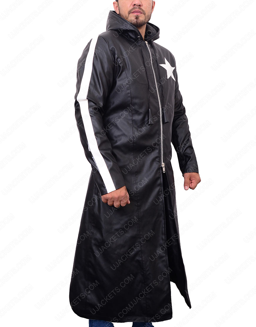 Hatsune Miku Rock Shooter leather coat