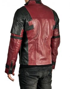 deadpool 2 leather jacket