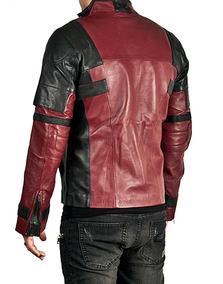 deadpool 2 leather jacket