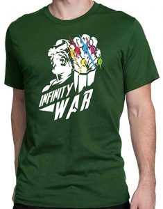 Avengers Infinity War black T-shirt