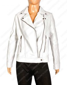 womens white quilted motorcycle jacket, womens white quilted motorcycle leather jacket