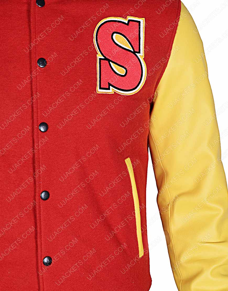 Clark Kent Crows Varsity Jacket