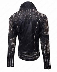 Britney Spears Till The World Ends Studded Leather Jacket