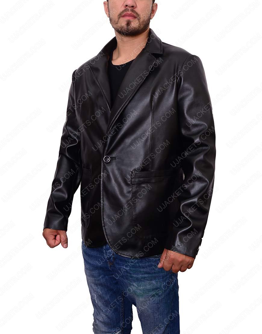 Casual Black Blazer For Mens