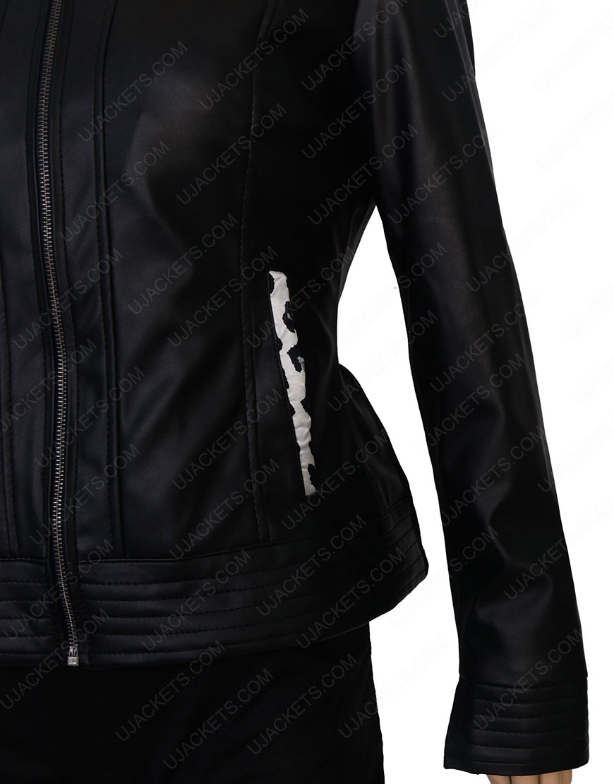 caitlin snow leather jacket