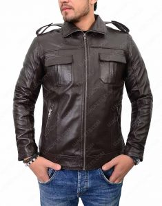 mens-casual-dark-brown-jacket